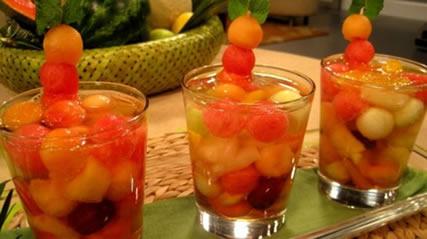 Como hacer un salpic n un c ctel de frutas - Como hacer coctel de frutas ...